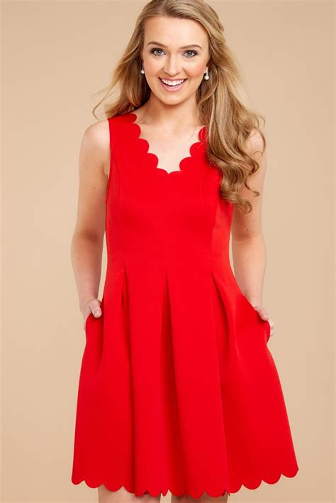 romantic red dress red dress dress