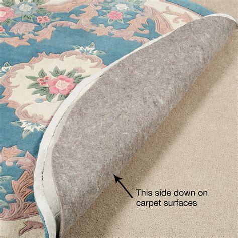 luxehold nonslip reversible rug pads  hard flooring