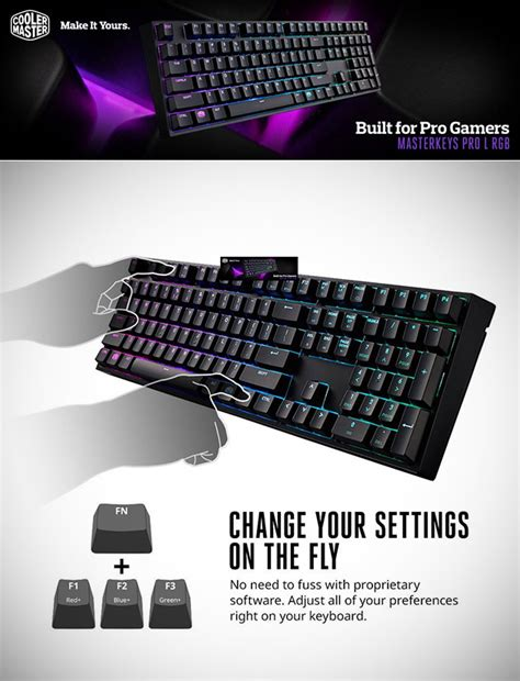 Cooler Master Masterkeys Pro S Rgb Gaming Keyboard Switch don t pay 170 get cooler master s masterkeys pro l rgb mechanical gaming keyboard for 78 94