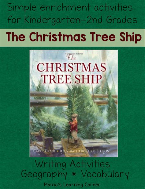 the christmas tree ship geography and writing activities