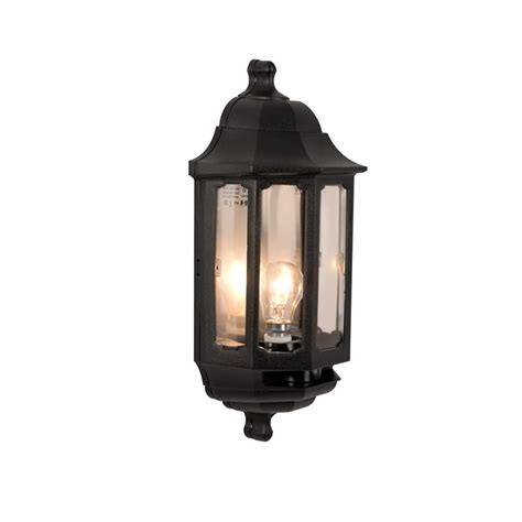 dusk to outside lights asd coach half lantern outdoor wall light with dusk to