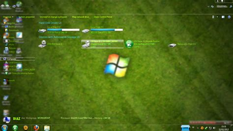 download theme for windows 7 full glass free download free theme win 7 full glass transparan