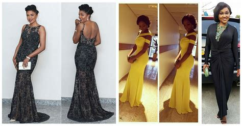 pictures of all nigerian celebrities new styles of ponytail hair 5 stunning nigerian female celebrity style