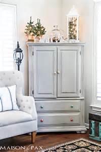 Decorating Armoire Tops 2015 Home Tours Maison De Pax Unskinny Boppy