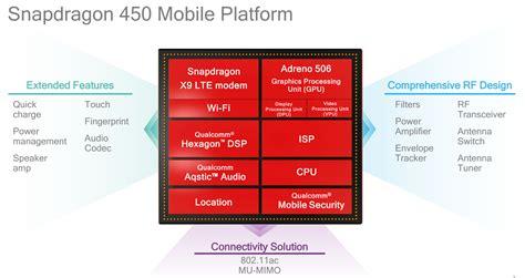 snapdragon mobile qualcomm snapdragon 450 is a 14nm lte mobile platform