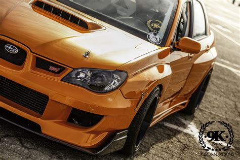 widebody wrx 9k racing track subaru impreza wrx sti with molded