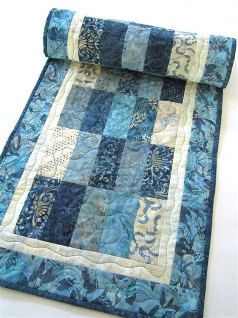 Table Runner Batik batik table runner table runner quilted table runner