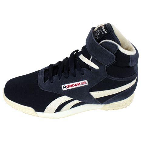 vintage reebok sneakers mens reebok exofit hi vintage trainer retro high tops top