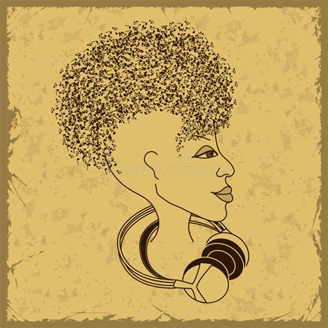 hair musical download free woman face silhouette with musical notes hair royalty free