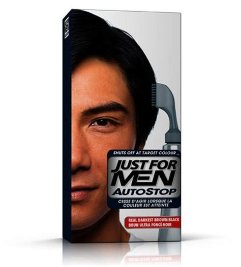 just for men autostop men just for autostop darkest brown black a50 walmart ca