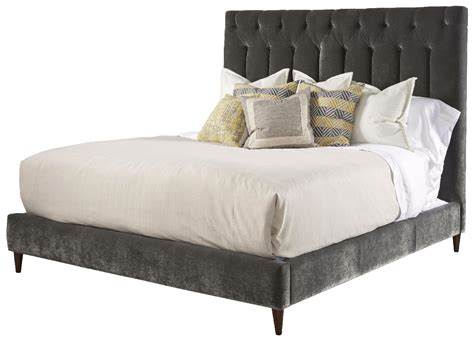 silver tufted bed silver lake upholstered california king platform bed in