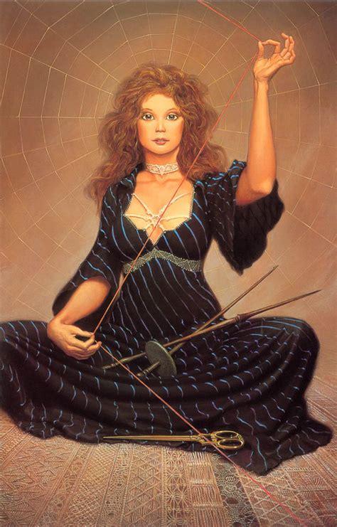 With A Tangled Skein with a tangled skein michael whelan wallpaper image