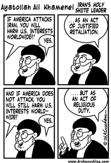 iran  rules  belligerent madhouse news