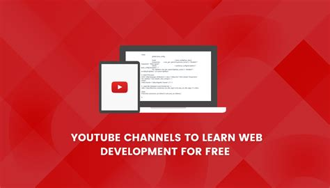 home design youtube channels 7 youtube channels to learn web development for free