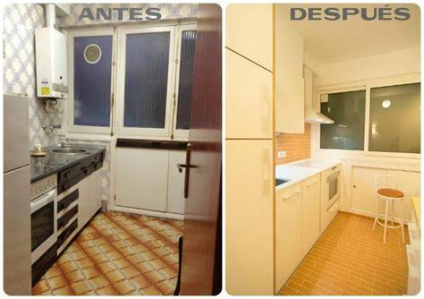 antes despues cocina reforma vintage reformar la cocina antes y despu 233 s de una renovaci 243 n lowcost