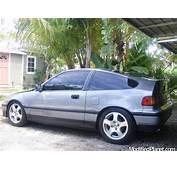 1989 Honda CRX Si With 1995 Acura Integra GSR Wheels