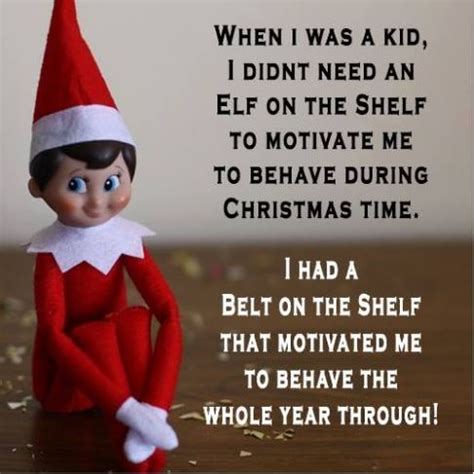 Elf On The Shelf Meme - yelling at clouds no i has heard