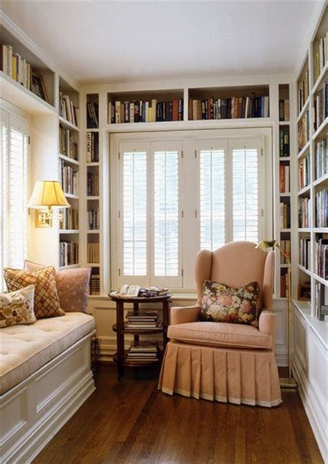 reading space ideas 15 small home libraries that make a big impact comfy