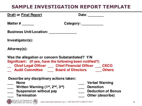 sle investigation report template sle investigation report template 28 images investigative report sle 28 images how to a