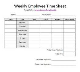 Printable Time Card Template Gallery For Gt Printable Employee Timesheet