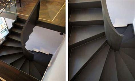 treppengeländer für aussentreppe metalltreppe au 223 en design
