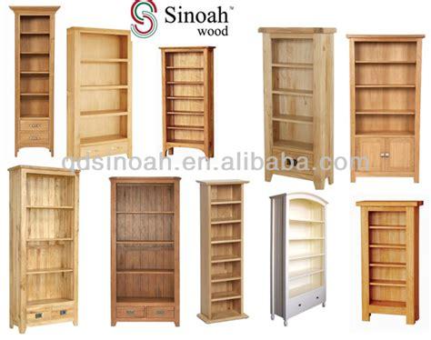 Wooden Book Cabinet 723 Range 5 Shelf Bookcase Pine Bookcase Wooden Book Rack