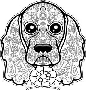 Coloring page dog coloring pages free coloring page free coloring