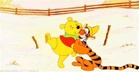 imagenes gif winnie pooh winnie the pooh hug gif find share on giphy