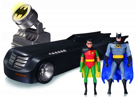 Dc Collectibles Batman The Animated Series Robin dc collectibles batman the animated series batmobile deluxe edition with batman robin