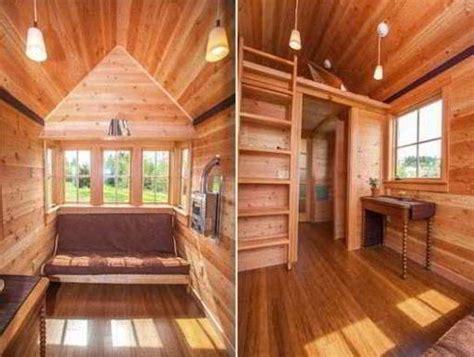 interior rumah semi permanen kayu minimalis gambar