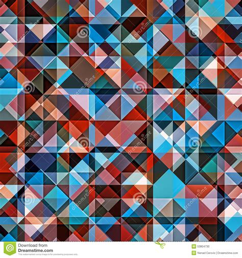 pattern quantify exception background geometric colorful pattern stock illustration