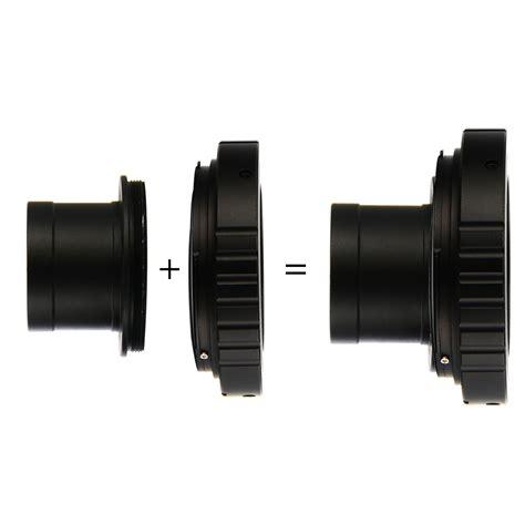 Xs 1 25 Telescope Mount T T2 Lensa Lens Adapter For Canon Dslr t t2 ring for canon eos lens adapter 1 25
