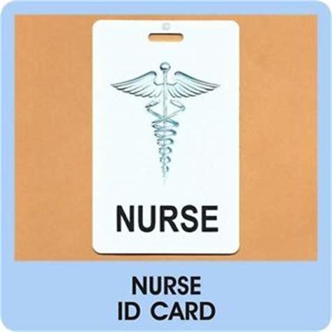 hospital id card template id card badge rn lpn rpn tag nursing hospital clinic