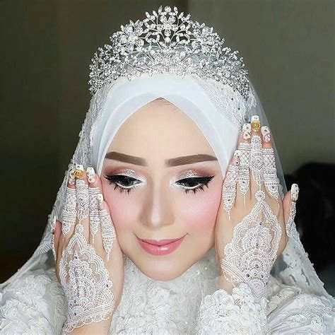 tutorial hijab nikah tutorial hijab nikah simple flawless makeup for