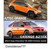 AZTEC ORANGE AZTEK 2014 Jeep Cherokee VS 2004