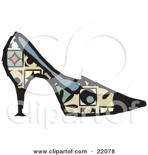 baseball pattern high heels pair of baseball cleats posters art prints by johnny