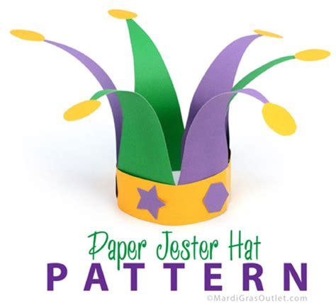jester mask template diy mardi gras themed free printable sign savvy nana