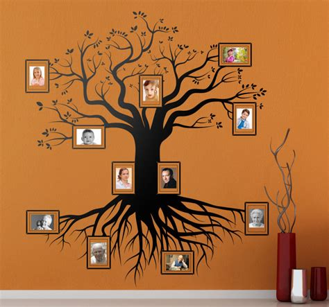 wall stickers family family tree wall sticker tenstickers