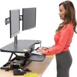 standing desk platform the 10 best adjustable standing desks in 2017