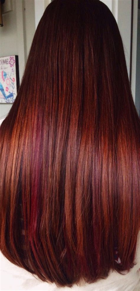 brownish hair color copper with highlights hair hair