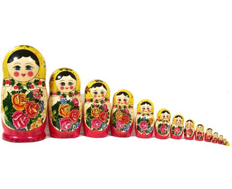 Wooden Home Decor Signs by Nesting Doll Russian Matrioshkas Nested Dolls