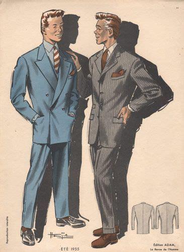 1950s fashion men and women men s fashion print 1955 the mousetrap costume