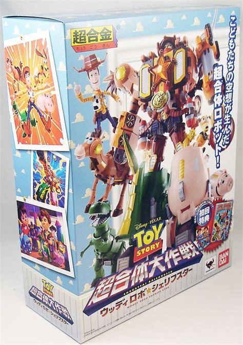 Robot Story 5 Toys Story Sheriff Woody story bandai chogokin woody robo sheriff
