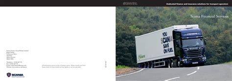 scania financial services by scania great britain