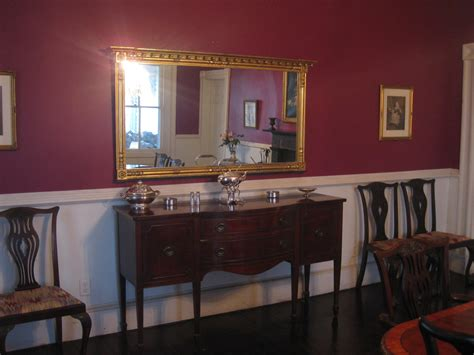 Painting Dining Room With Chair Rail Painting A Room With A Chair Rail Used A Plum Colored