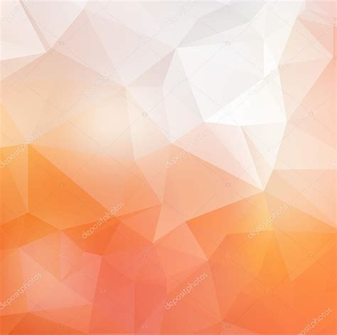 soft orange light orange soft vector abstract polygonal background