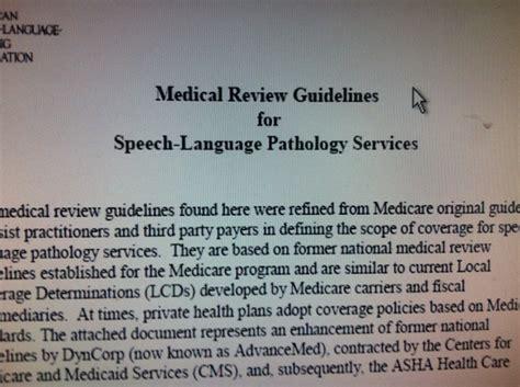 best speech guidelines 31 best slp medicare medicaid information resources images
