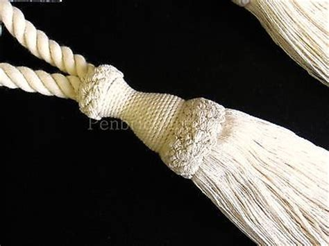 cream curtain tie back hooks 2 natural cotton curtain tiebacks jones interiors cream