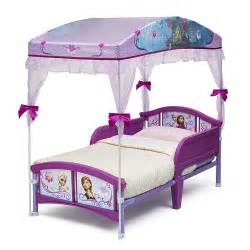 Toddler Bed Frozen Disney Frozen Canopy Toddler Bed Delta Toys Quot R Quot Us
