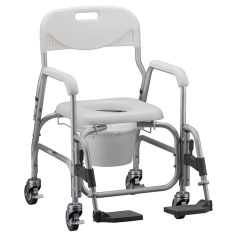 rolling shower chair with padded seat deluxe shower chair and commode with padded